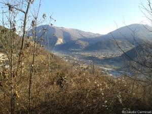 Vista Val Cavallina e Colli di San Fermo