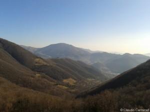 Panorama sulla Valle dell'Acqua