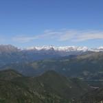 Alpi Orobie, dalla cima del Monte Colombina