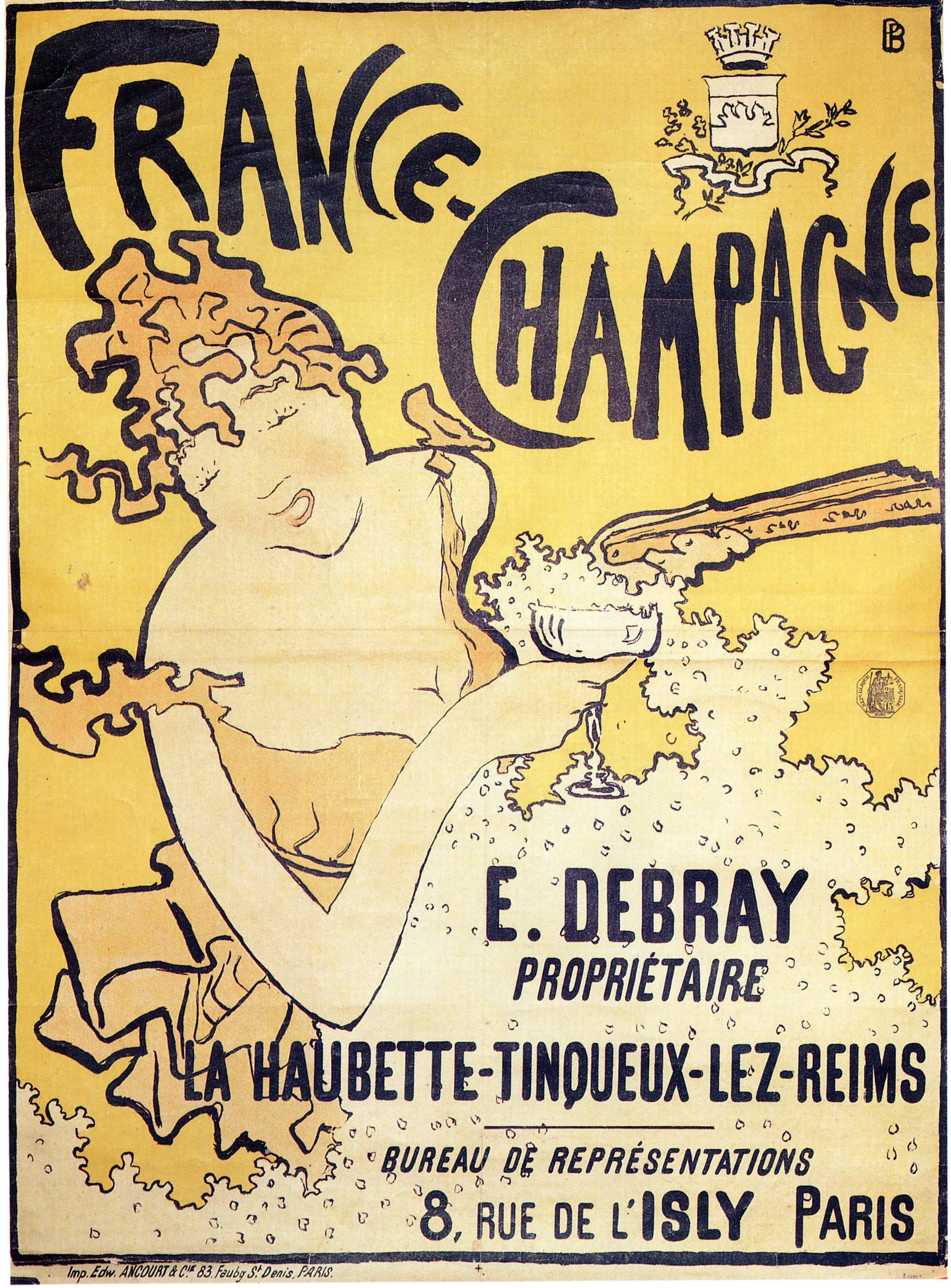 poster-advertising-france-champagne-1891 - Discorsivo