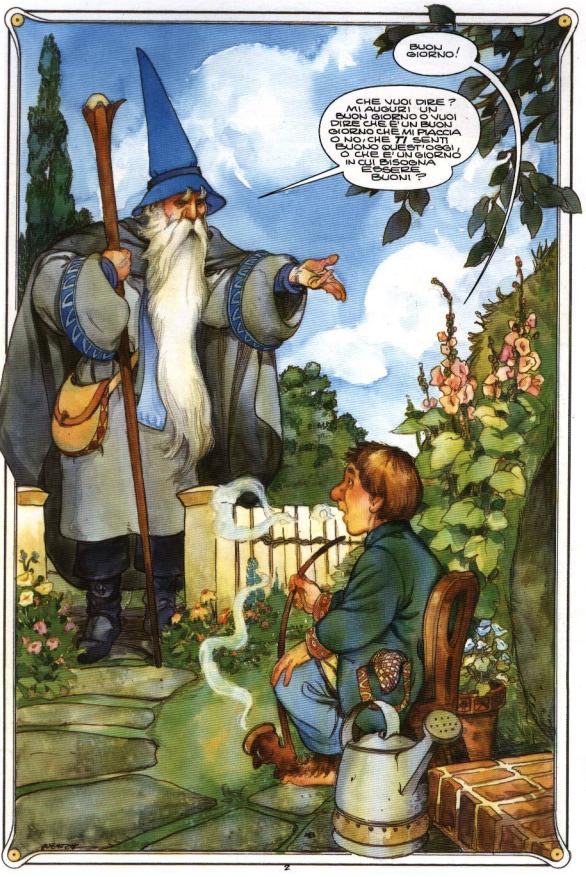 Aspettando il film lo hobbit a fumetti discorsivo for Cabine nel buco del jackson