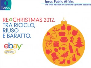 Re-Christmas 2012 - Tra riciclo, riuso e baratto