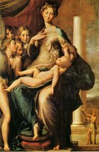 Parmigianino -Madonna dal collo lungo