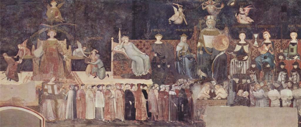 Autorità politica: Buono e Cattivo Governo negli affreschi di Ambrogio Lorenzetti