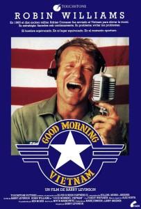 "Locandina "" Good Morning Vietnam"""
