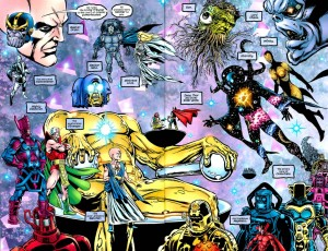 Le entità cosmiche della Marvel