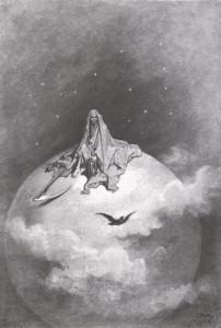 """""""Il Corvo"""" di Gustave Doré"""