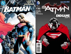 Gli scontri tra Batman e Superman in Hush ed Endgame