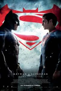 Batman VS Superman poster ita