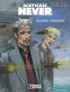 25 anni di Nathan Never: la copertina del numero 300 variant di Enki Bilal