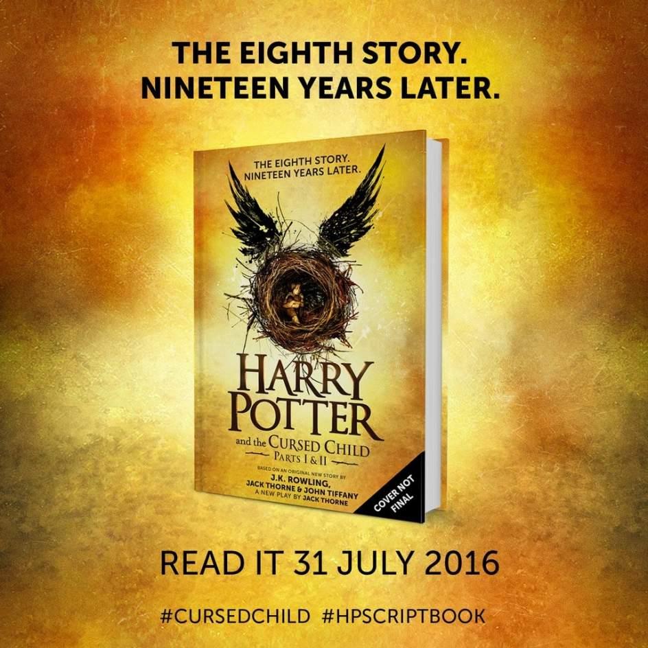 Il nuovo libro di Harry Potter, tratto dallo spettacolo teatrale the cursed child