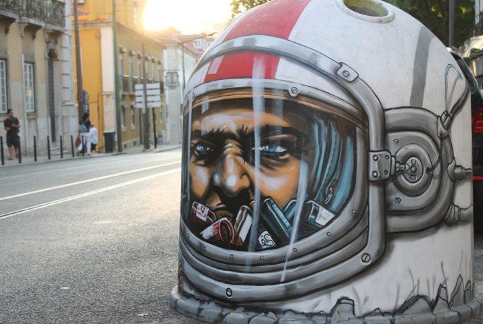Street art, Lisbona