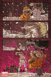 Il sacrificio della madre di Danny Rand, futuro Iron Fist