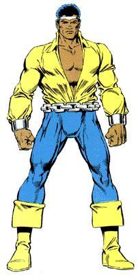 Il look di Luke Cage durante gli psichedelici 70.
