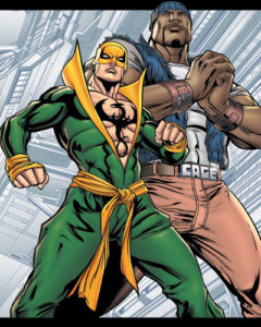 Iron Fist e Luke Cage