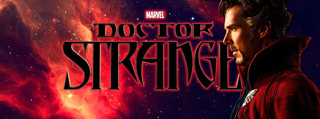 foto del banner orizzontale di doctor strange
