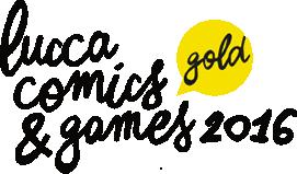 Lucca comics & games 2016- logo
