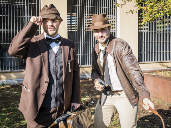 Indiana Jones Senior & Junior - Lucca Comics & Games Cosplay Photogallery
