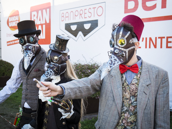 Steampunk Doctor Who - Lucca Comics & Games Cosplay Photogallery