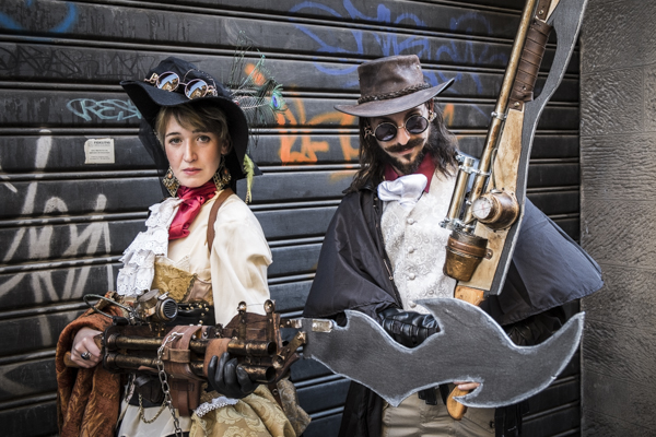 Steampunk Cosplay - Lucca Comics & Games Cosplay Photogallery