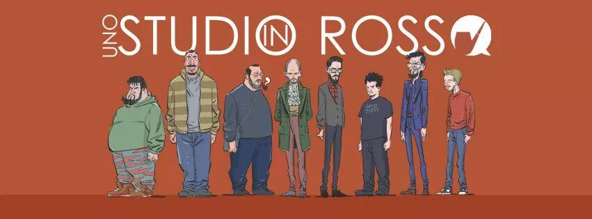 Comics is the new sexy / Uno studio in rosso