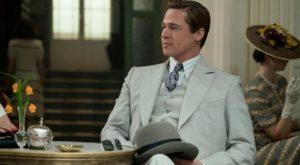 Brad Pitt in una scena di Allied
