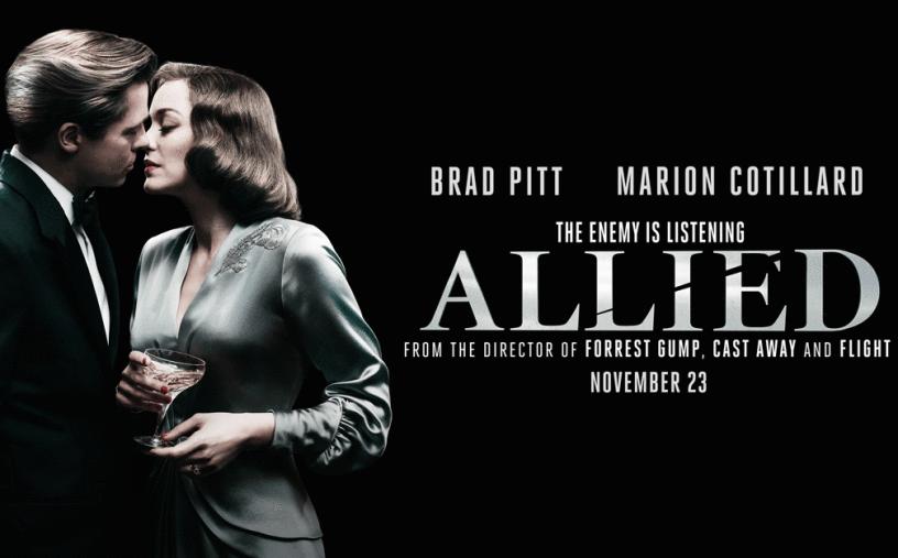 Banner orizzontale di allied, il nuovo film di Robert Zemeckis
