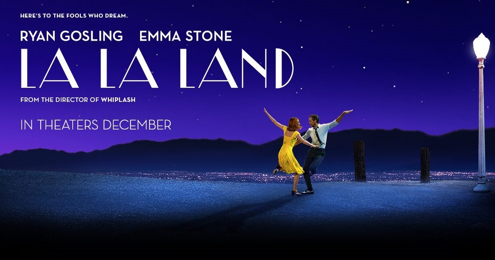 Banner Orizzontale del film La La Land