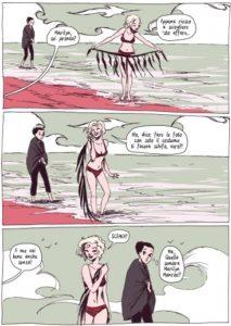 Goodbye Marilyn: sulla spiaggia