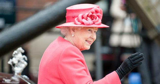 Una foto della Regina Elisabetta, chiamata in codice London Bridge