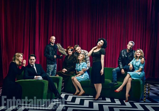 Twin Peaks la terza stagione evento le foto promozionali con gli attori