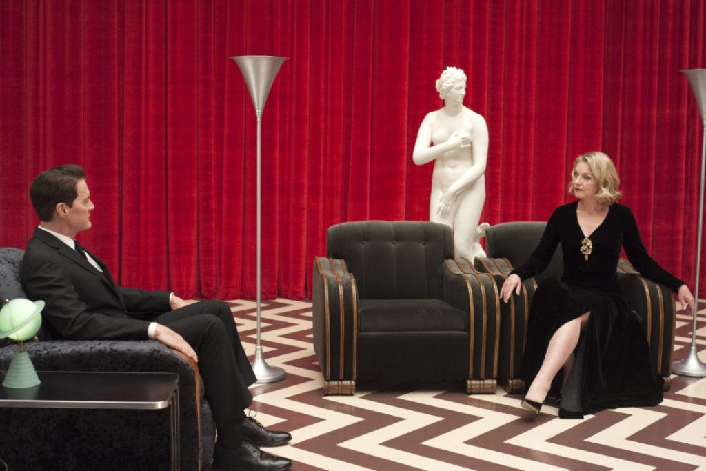 una scena tratta da Twin Peaks la terza stagione evento