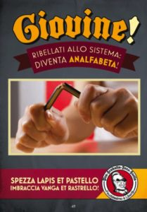 Il programma elettorale di Feudalesimo e Libertà: analfabeta