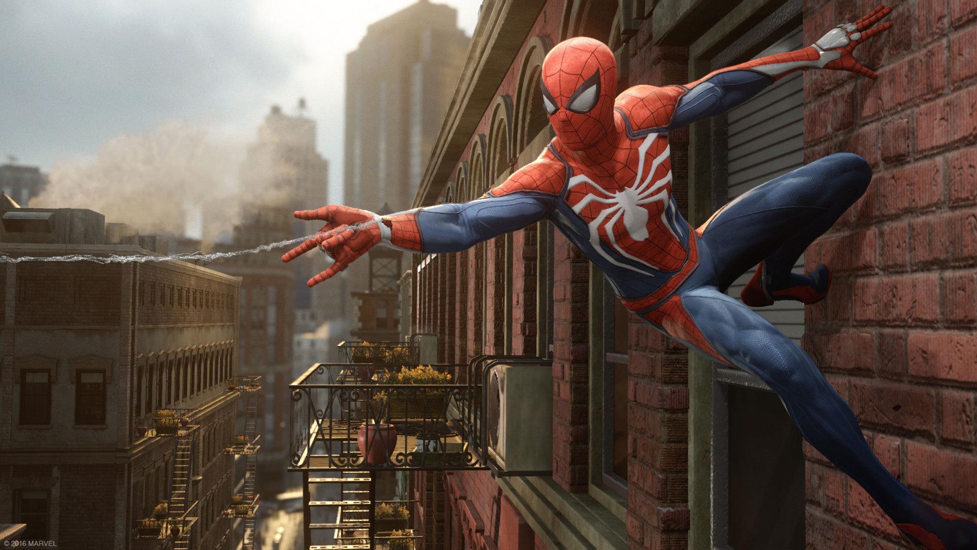Spider-Man su PlayStation 4: Fotogramma dal gameplay di Spider-Man su PlayStation 4