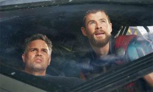 Bruce Banner e Thor uniti in Thor Ragnarok