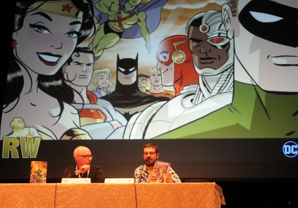 Lorenzo Corti e Salvatore Cervasio presentano le novità sulla Justice League a Lucca Comics 2017