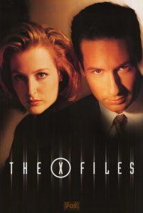 poster X Files. Se non è una serie cult questa?