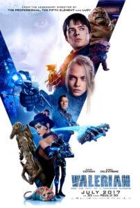 Poster Valerian e la città dei mille mondi