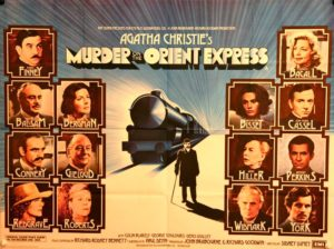 locandina di Assassinio sull'Orient Express nella versione del 1974