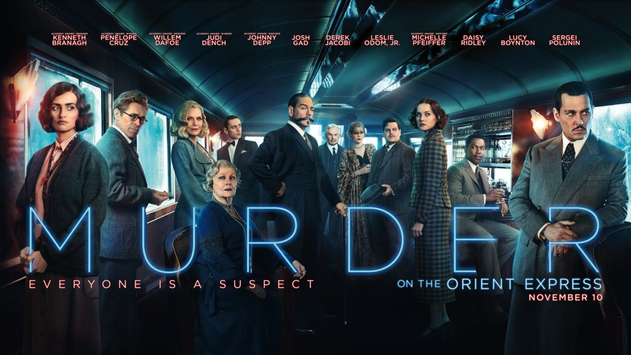 Assassinio sull'Orient Express 2017 poster