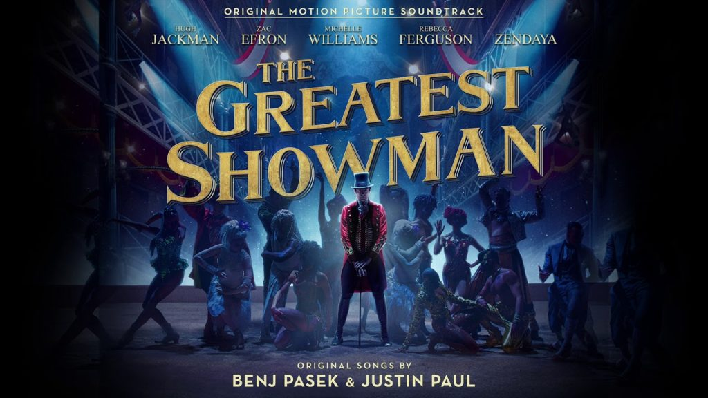 banner orizzontale The Greatest Showman