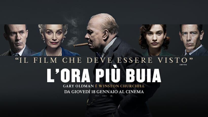 L' ora più buia , il poster del film