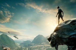 La vista di Wakanda, immaginaria El Dorado Africana patria di Black Panther