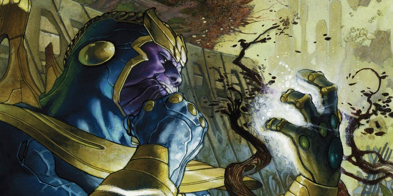 Top 5 cattivi Marvel: Thanos