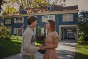 Hedges e Ronan in una delle scene del film ladybird