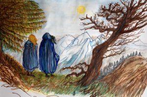 Lidia e Freyja in viaggio
