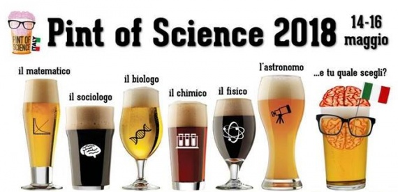 Locandina eventi pint of science 2018 italia