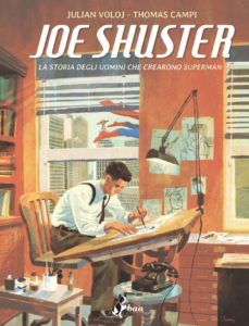 Joe Shuster: copertina