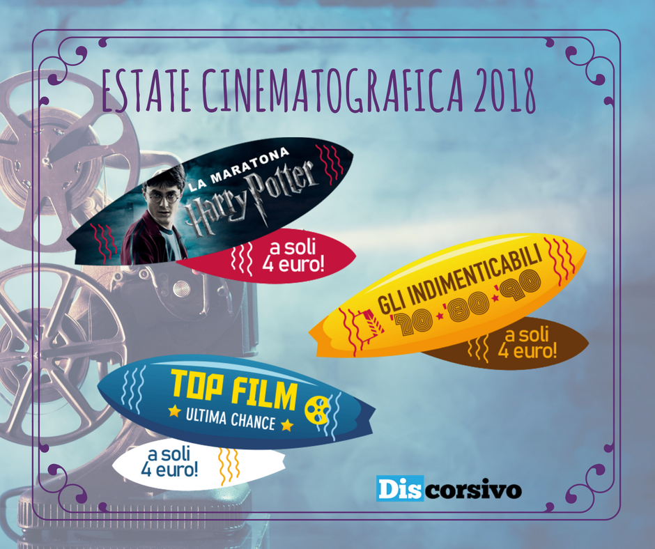LOCANDINA ESTATE CINEMATOGRAFICA 2018