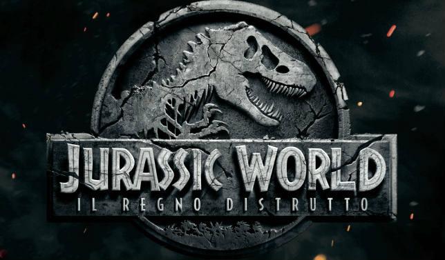 Locandina orizzontale del film Jurassic World Il Regno Distrutto